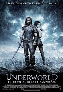 Poster de Underworld 3: La Rebelión de los Licantropos
