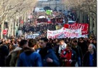 Francia sciopero generale 19 marzo 2009