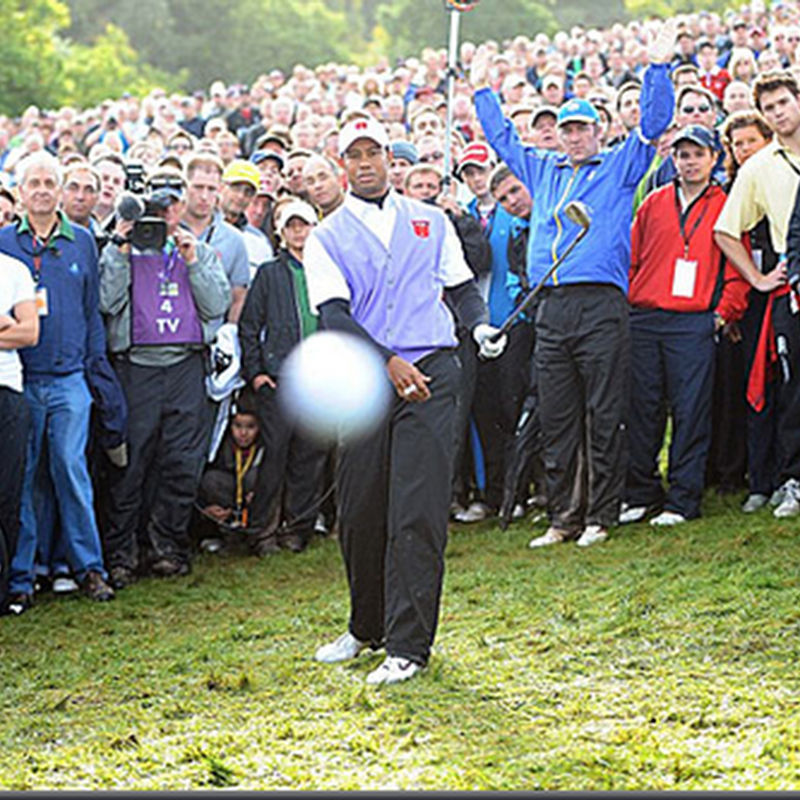 Tiger Woods cipta sejarah dunia golf !