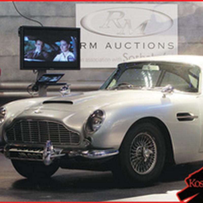 Kereta James Bond dilelong RM12.8 juta