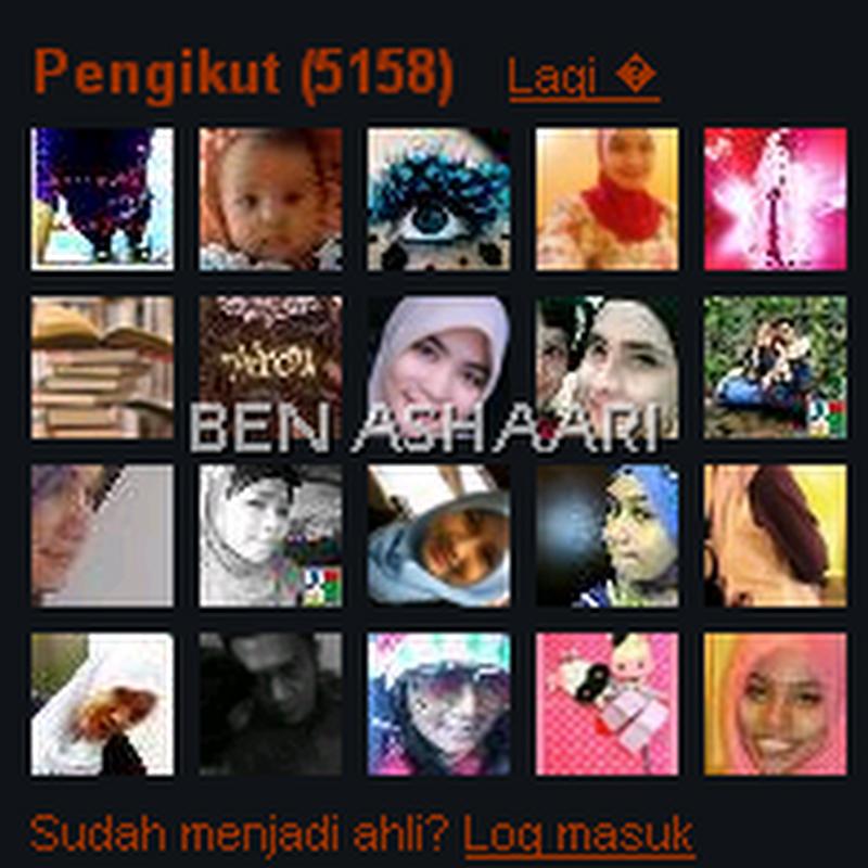 Bila blog ramai pengunjung ..