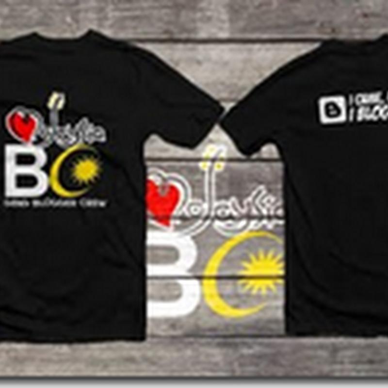 Baju Blogger untuk dimiliki ...  ;)