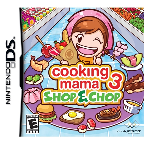 Cooking Mama 3: Shop & Chop (NDS)