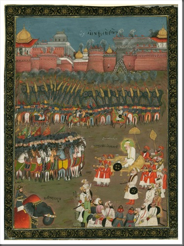 Aurangzeb at the Siege of Golconda (©Anne S. K. Brown Military Collection, Brown University Library)