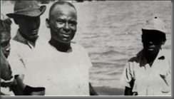 Stanley Stair on plantation in Jamaica
