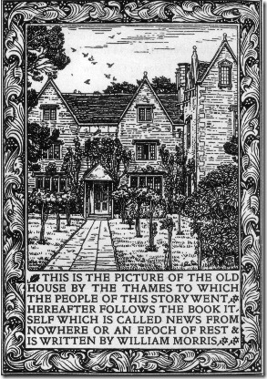 Kelmscott_Manor_News_from_Nowhere - woodcut