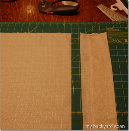 Easy DIY tailored bedskirt tutorial