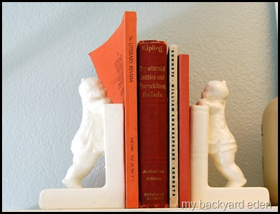 Old Books and Bookends