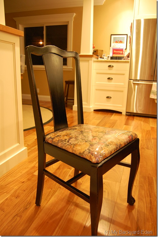Dining room chair after