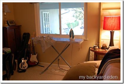 My ironing zone