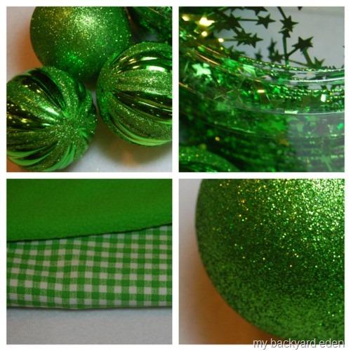 Pretty Green Decorations