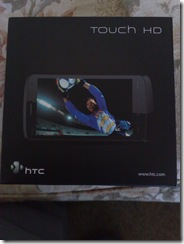 HTC Touch HD Retail Box