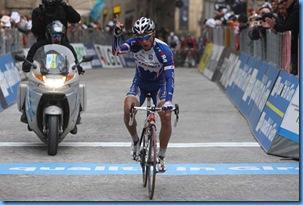 Macerata (MC) 15/03/2010 - Tirreno Adriatico 2010  - 6Tappa - Montecosaro Macerata - Mikhail Ignatiev vince la sesta tappa  -  Autore: Riccardo Scanferla