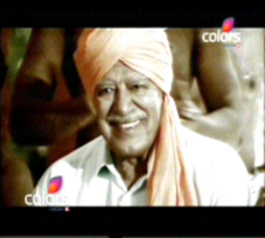 photo of Dara Singh  in 100% De Dhana Dhan on colors TV channel