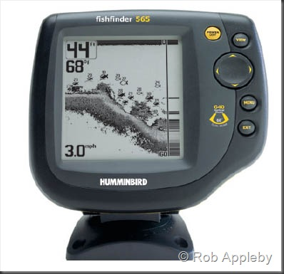 saltwater kayak fisherman: review - hummingbird 565 fishfinder, Fish Finder