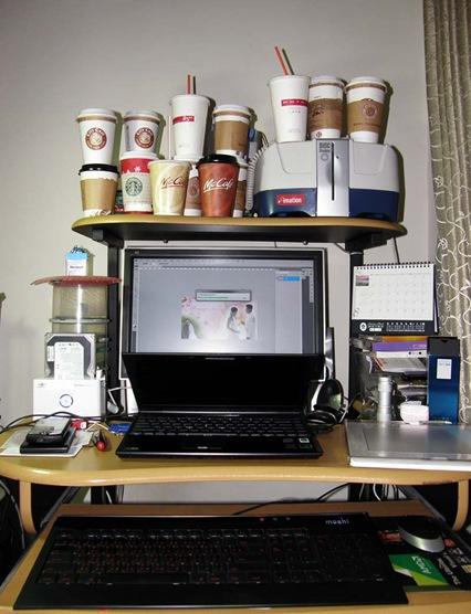 最近的成績-咖啡杯集集樂