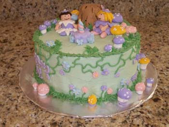 Fairy Cake. Buttercream