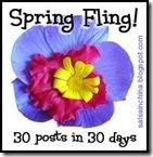 spring fling button