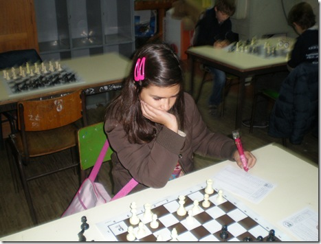 Joana Machado - 3º lugar sub-10