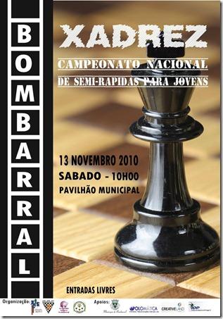 Campeonato Nacional de Jovens Semi- Rápidas - 13 NOV 2010 BBR - Cartaz