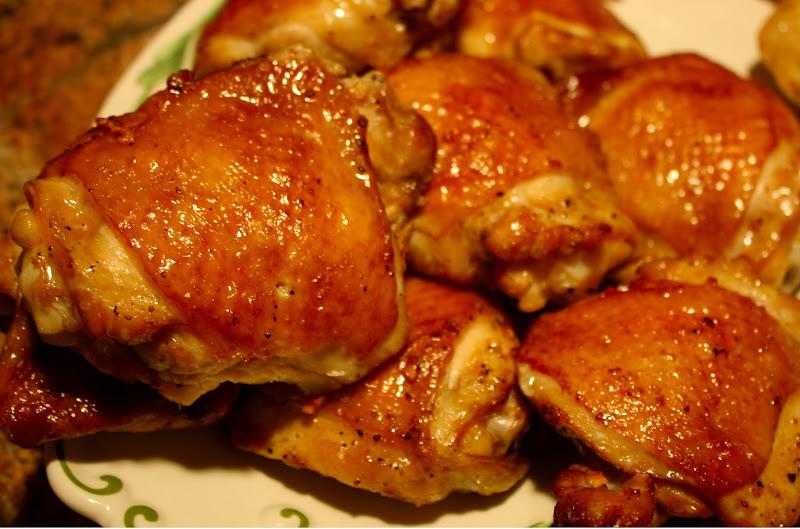 Vietnamese Roasted Chicken, Scallion Rice And Tofu In ...