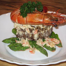 Crab and Blue Cheese Steak Topper