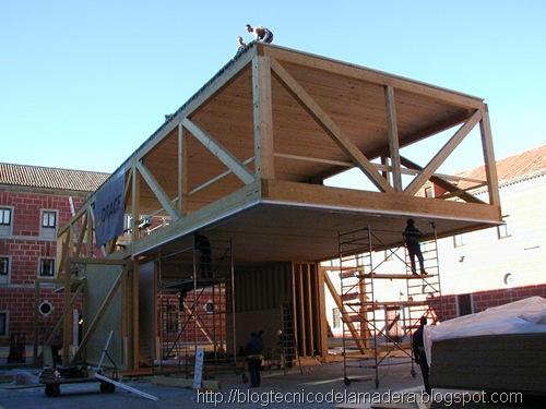 Blog t cnico de la madera arquitectura ef mera con madera - Arquitectura en madera ...