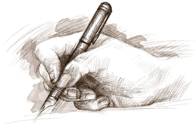 caneta-papel