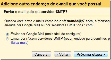 Enviar por Google Mail