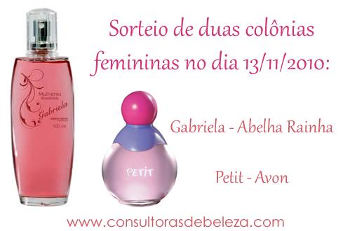 Sorteio Gabriela + Petit