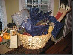 Mason gift basket