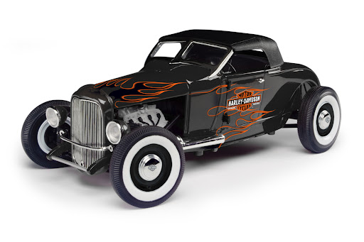 Based on the first 'hot rods'