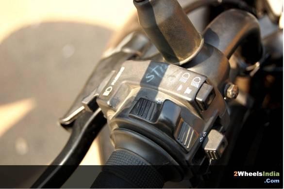 Honda CBF Stunner Switchgear
