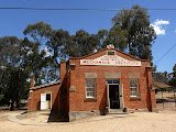 The Burke and Wills Mechanics Institute Hall at Fryerstown