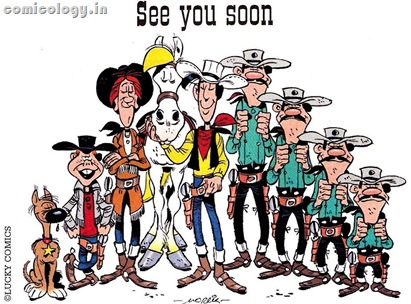 Lucky Luke Coming Soon Ad