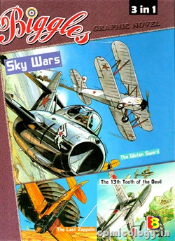Biggles 3in1 Vol1