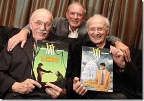 Vance, Hamme, and Giraud with XIII final albums