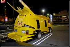 pikachu van