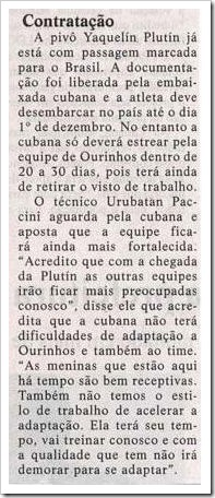 JORNAL DIÁRIO DE OURINHOS - 20-11-2010