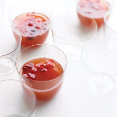 Apple Cider, Cranberry, and Ginger Punch