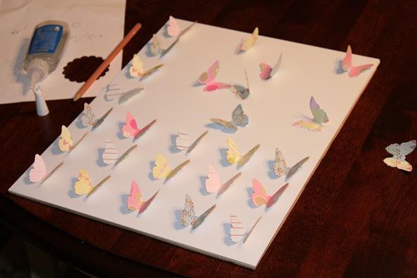 scrapbook butterflies