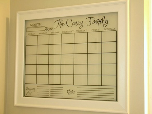 vinyl calendar