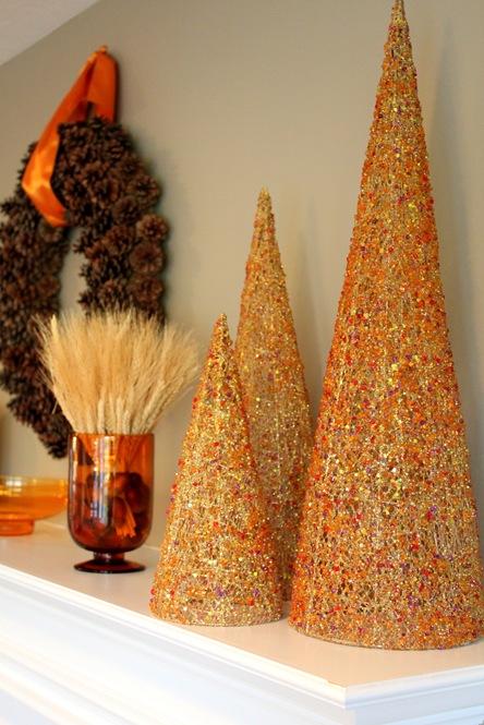 glitter cone trees