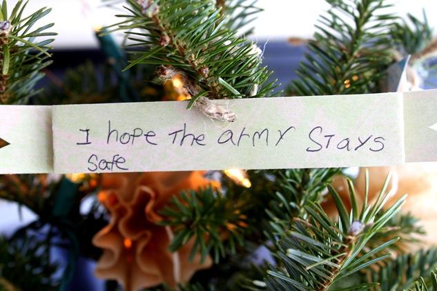 army wish
