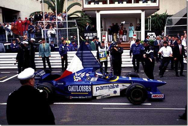 Panis - Monaco 1996