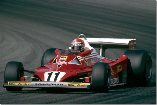 F1DataBase - Niki Lauda, Ferrari - França 1977