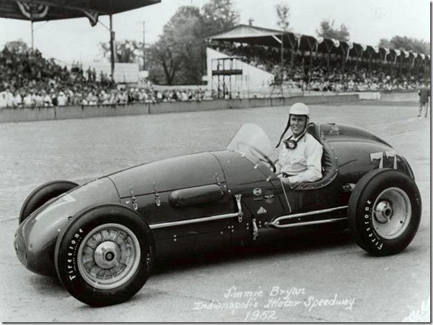 F1DataBase - Jimmy Bryan, Kurtis Kraft 3000 - Indianápolis 1952