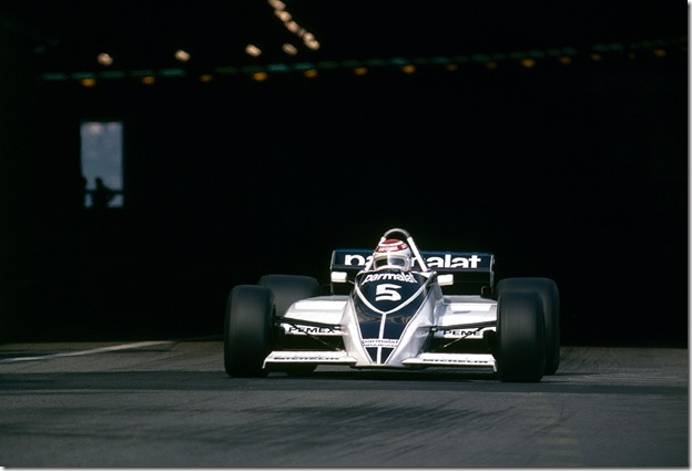 F1DataBase - Nelson Piquet, Brabham - Monaco 1981