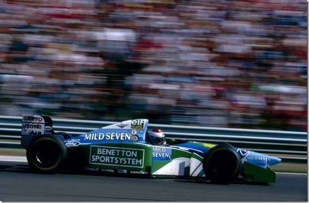 F1DataBase - Jos Verstappen, Benetton - Hungria 1994
