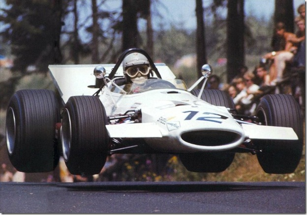 F1DataBase - Vic Elford, McLaren - Alemanha 1969